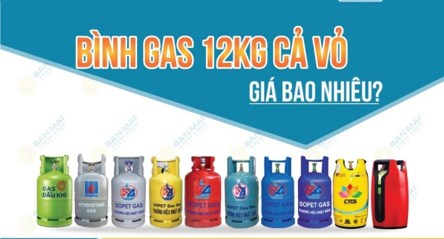 giá đổi bình gas 12kg hôm nay tại Hà Nội